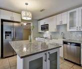 Quartz Counters in Kitchen